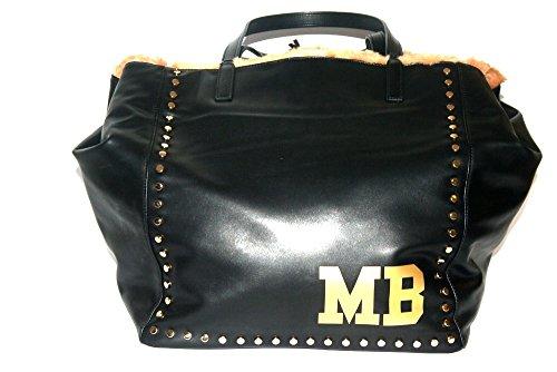 Mia Bag borsa shopping reversibile da donna nero