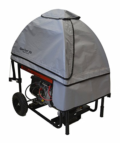 Gentent Wet Weather Safety Canopy for Running Portable Generators - GreySkies StormBracer Edition (Portable Generator Shelter compare prices)