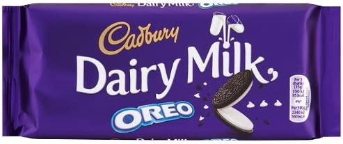 Cadbury Dairy Milk Oreo 120 g (Pack of 15)