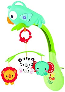 Fisher-price Rainforest 3-in-1 Musical Mobile from Fisher-Price