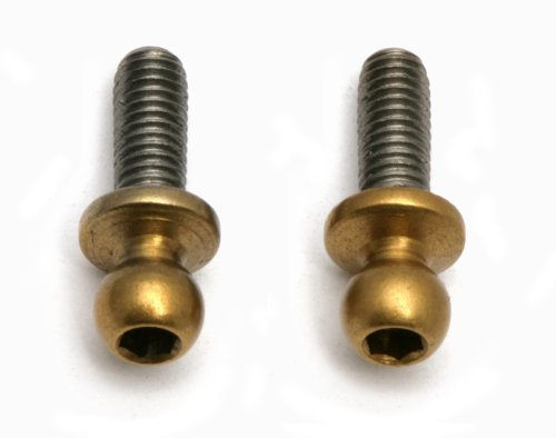 Team Associated 31289 Titanium Nitride Ballstuds, M3X8/Short Pair - 1