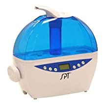SPT SU-2081B Digital Ultrasonic Humidifier with Hygrostat Sensor, Blue