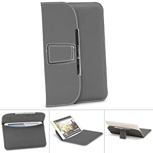 GreatShield BRIEF Series Leather Sleeve with KickStand for ALL 7-8