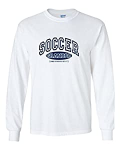Fair Game Soccer Grandpa and Proud Of It Long Sleeve Shirt-Ash-Large