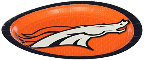 Denver Broncos 8-Pack Dinner Plates