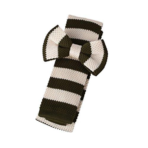 dap3a01a-dark-olive-verdi-beige-stripes-fabbrica-tessuto-microfibra-pre-legato-papillon-e-skinny-tie