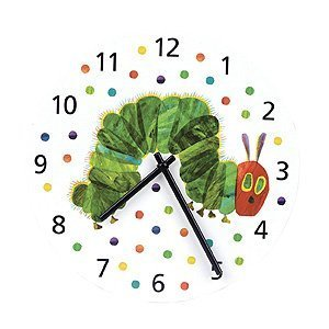 Click to buy Butterfly Crafts for Kids: Very Hungry Caterpillar Wall Clock from Amazon!