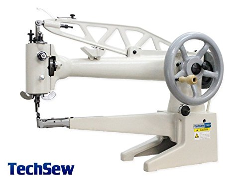 TechSew 2900L Long Arm Leather Patcher Industrial Sewing Machine (Techsew Leather Sewing Machine compare prices)