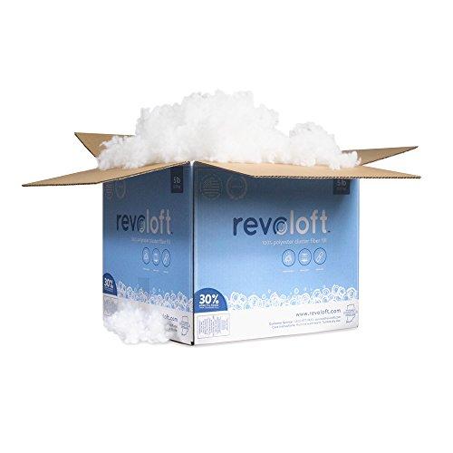 Revoloft Polyester Cluster Fiber - 5 LB. Bag (Down Alternative Stuffing compare prices)