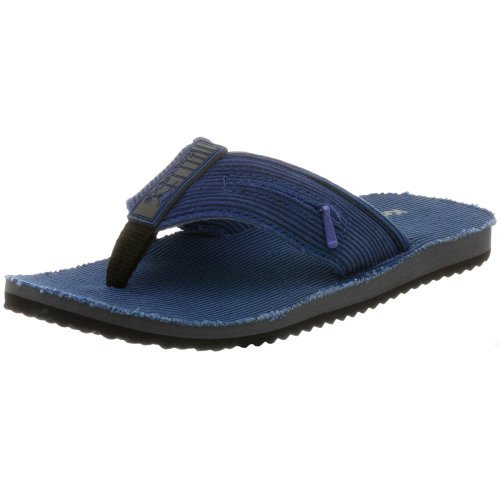 KangaROOS Youth Vacation Flip Flop,Black,10 M