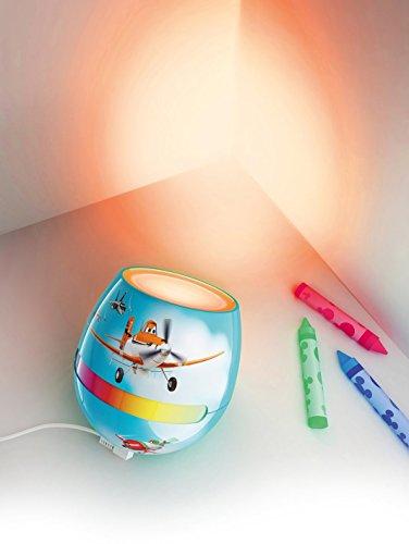 Philips Disney Planes Micro Living Farbe LED Farbwechsel Leuchte für Kinder, Farbwechsel Led-Nachtlicht Disney Nachtlicht