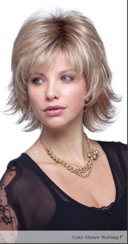 LEXY Wig #1642 designed by Noriko for Rene of Paris plus a FREE Revlon Wig Lift Comb! from Aderans