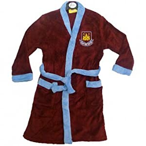 Great gift for football fans, these dressing gowns are available in West Ham, Chelsea, Arsenal, Liverpool, Man United and Tottenham design.
