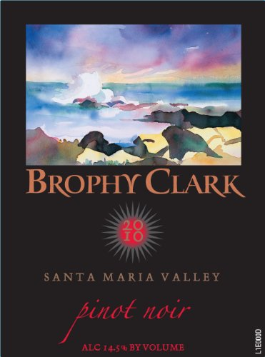 2010 Brophy Clark Pinot Noir Santa Barbara County Santa Maria Valley Garey Goodchild 750 Ml