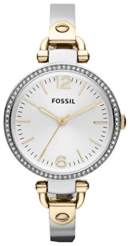 Fossil es3250 32mm Silver Steel Bracelet & Case Mineral Ladies Watch