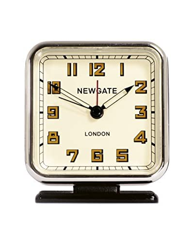 Newgate The Strand Alarm Clock, Black