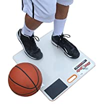StepNGrip Standard Board w/Shoe Scuff Traction System (Patent Pending) - Stop Slipping on the court. Includes 30 Sheets