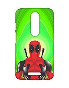 Mobifry Back case cover for Motorola Moto X 3rd generation Mobile ( Printed design)