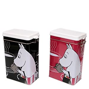 Moomin Coffee Tin - Black