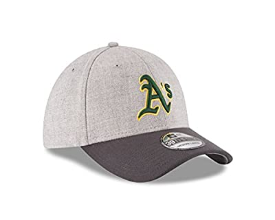 MLB Oakland Athletics Gray Change Up Classic 39Thirty Stretch Fit Cap