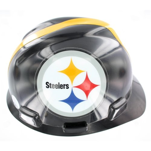 Mine Safety Appliances Company 818407 NFL hard hat - steelers at Amazon.com