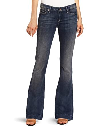 7 For All Mankind Women's Jiselle Jean in Alluring Night, Alluring Sunset, 26