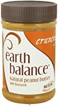 Earth Balance Crunchy Peanut Butter 16 OZ Pack of 12 - Pack Of 12