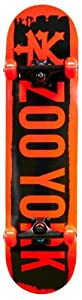 Zoo York Brooklyn Complete Skateboard, Red from Division 6 Sports Inc.