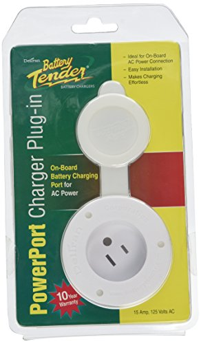 Battery Tender 024-0004-W AC/DC White Power Port