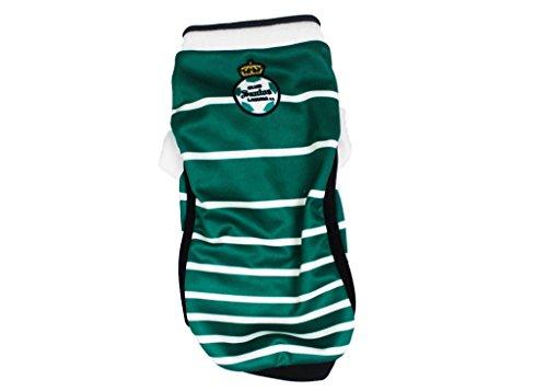 santos-laguna-guerreros-soccer-local-uniform-shirt-for-dog-or-cat-green-or-pink-green-10