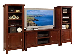 Home Styles 5532-34 Hanover 3-Piece Entertainment Center, Cherry Finish