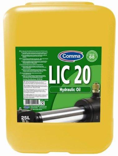 Comma Hydraulic Oil LIC 20 25L also for jacks