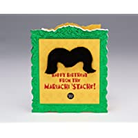Mariachi 'Stache Birthday Card