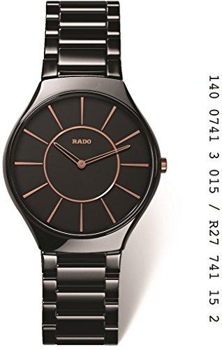 Rado R27741152 - Orologio da polso, ceramica, colore: nero