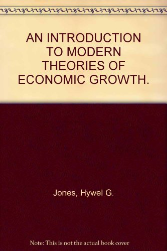 a report on modern economic theories The theory of investment behavior dale w jorgenson university of california at berkeley 1 introduction business investment behavior is one of the areas of modern economic.