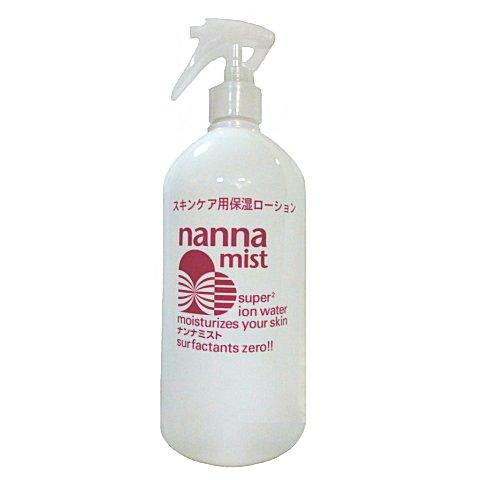 ナンナミスト 500ml 全身ボディローション スキンローション 超酸化水 添加物不使用の 保湿ローション 強力保湿ローション 超酸化水ローション 全身