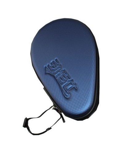 Hard Cover for Tabel Tennis Paddle and Balls, PingPong Racket Bag, Royal Blue