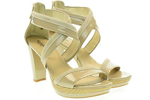 NERO GIARDINI donna sandali con tacco P615510D/410 35 Sabbia