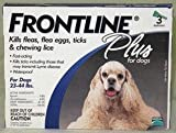 Frontline Plus for Dogs 3 Mths 23-44 Lbs.