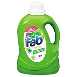 Fab® 2X HE Liquid Laundry Detergent  Category