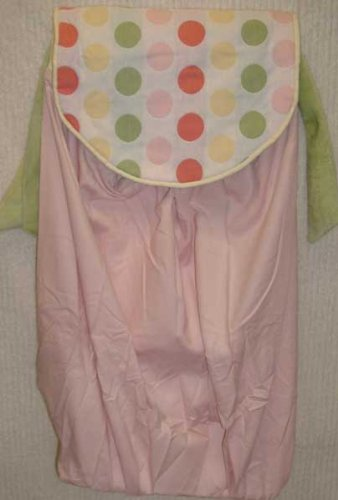 Brandee Danielle Cotton Candy Polka Dots Diaper Stacker