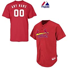 St. Louis Cardinals Full-Button CUSTOM or BLANK BACK Major League Baseball Cool-Base... by Majestic Authentic Sports Shop