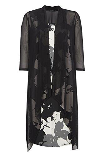 Roman Originals Women's Online Exclusive Jacket and Floral Dress Set Black Sizes 10-20