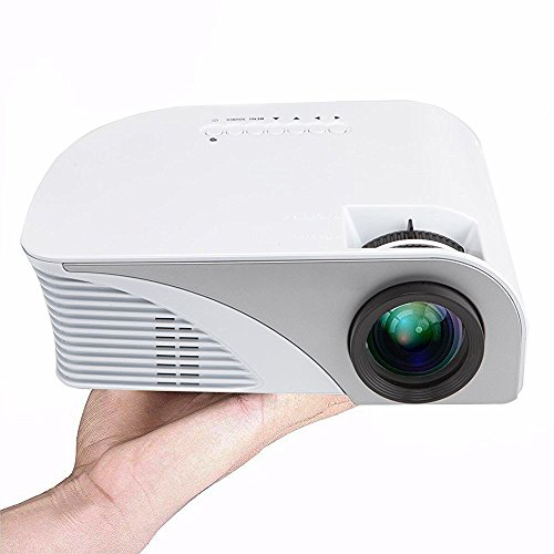 FAVI G2W LED LCD (WVGA) Mini Video Projector Kit, Includes 1 Item - Projector Only - International Version - White