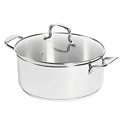 SALT 7.5 qt. Stainless Steel Stock Pot