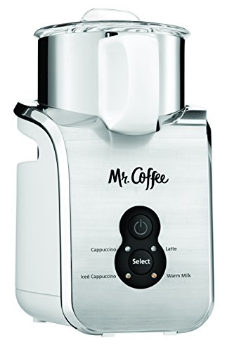 Mr. Coffee BVMC-MFC200 Automatic Milk Frother, Stainless Steel (Mr Coffee Latte Cup compare prices)