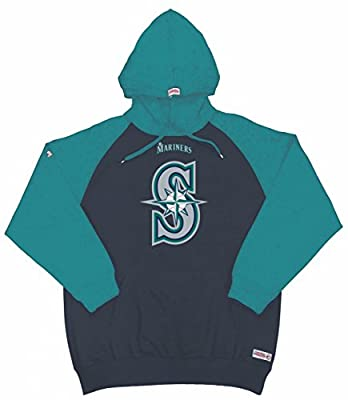 MLB Seattle Mariners Youth Big Logo Pullover Hood
