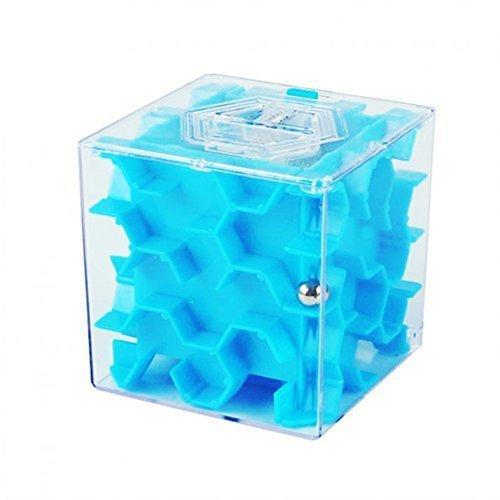 SainSmart Jr. Amaze CB-23 Cube Maze Money Bank (Blue) (Monster Truck Floor Puzzle compare prices)
