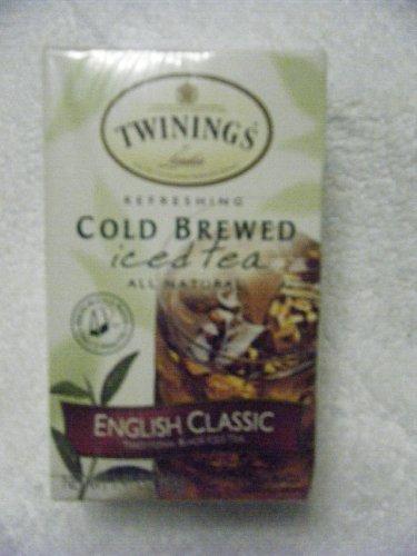 Twinings Cold Brew English Classic Iced Tea (6X20 Bag)