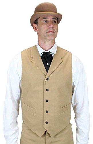 Historical-Emporium-Mens-Baxter-Cotton-Blend-Dress-Vest